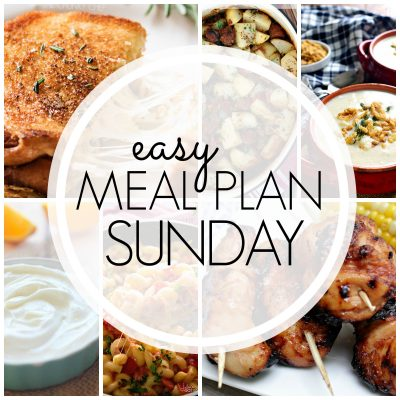 EASY MEAL PLAN SUNDAY {WEEK 90}