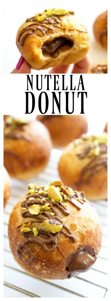 NUTELLA DONUT RECIPE