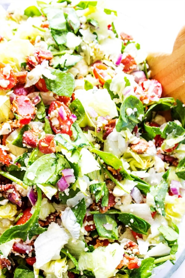 CHOPPED WEDGE SALAD