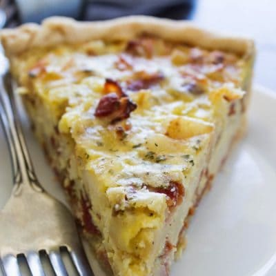RANCH BACON POTATO QUICHE