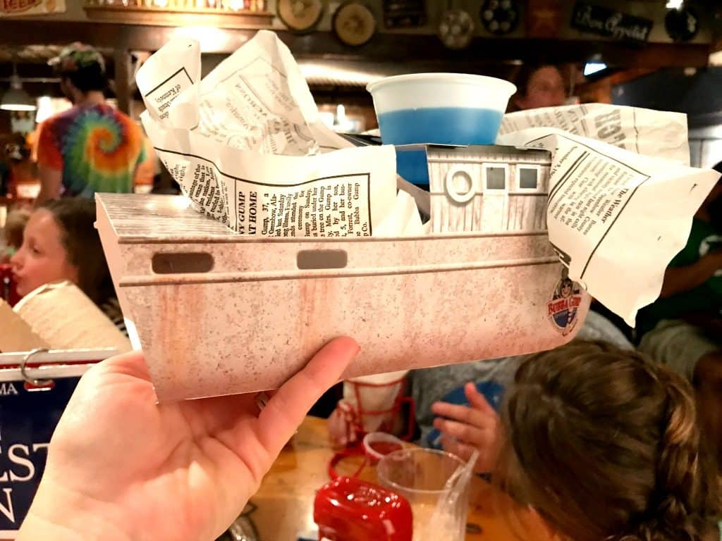 SHEET PAN CAJUN SHRIMP - Dish from Bubba Gump Shrimp Restaurant