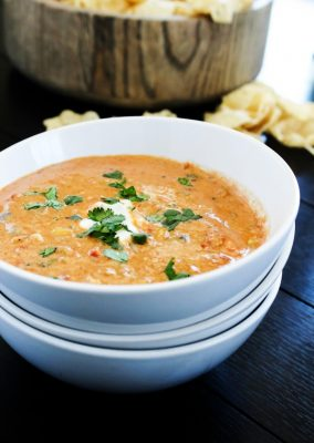 SLOW COOKER CHICKEN CHILI DIP