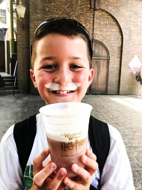Butterbeer Universal Studios