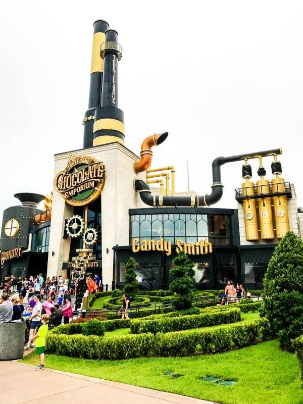 Chocolate Emporium Universal Studios