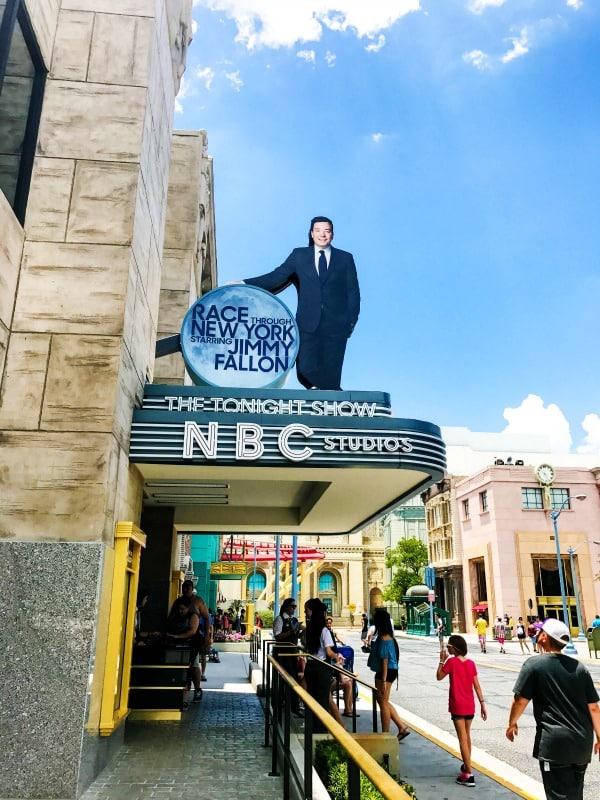 Jimmy Fallon Universal Studios