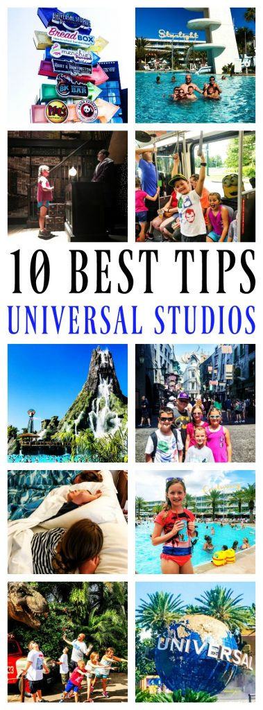 Universal Studios Tips with a Family