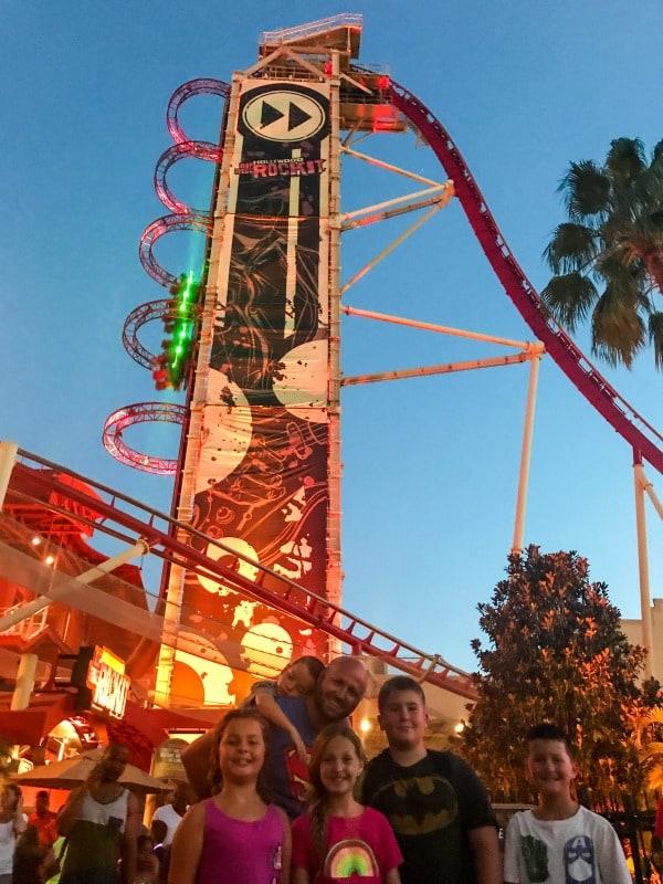 Rockit Roller coaster Universal Studios