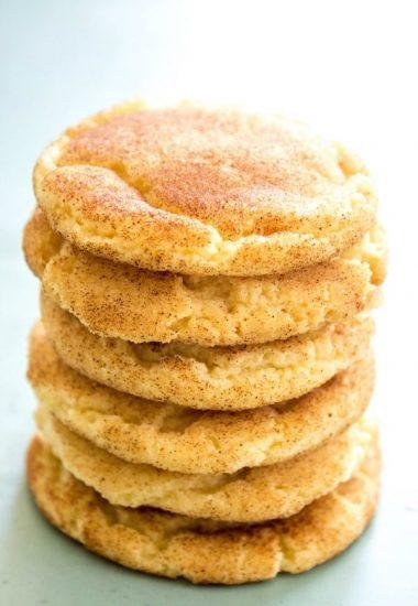 Best Ever Snickerdoodle Cookie Recipe