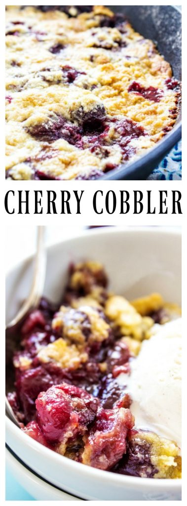 Cherry Cobbler pinterest image