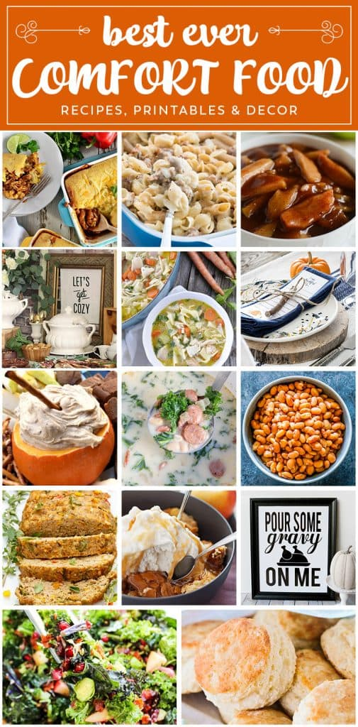 BEST EVER COMFORT FOOD RECIPES that you need to make. Whether for a cold night, holiday feast or to feed a craving, the fact is you need to make them all.