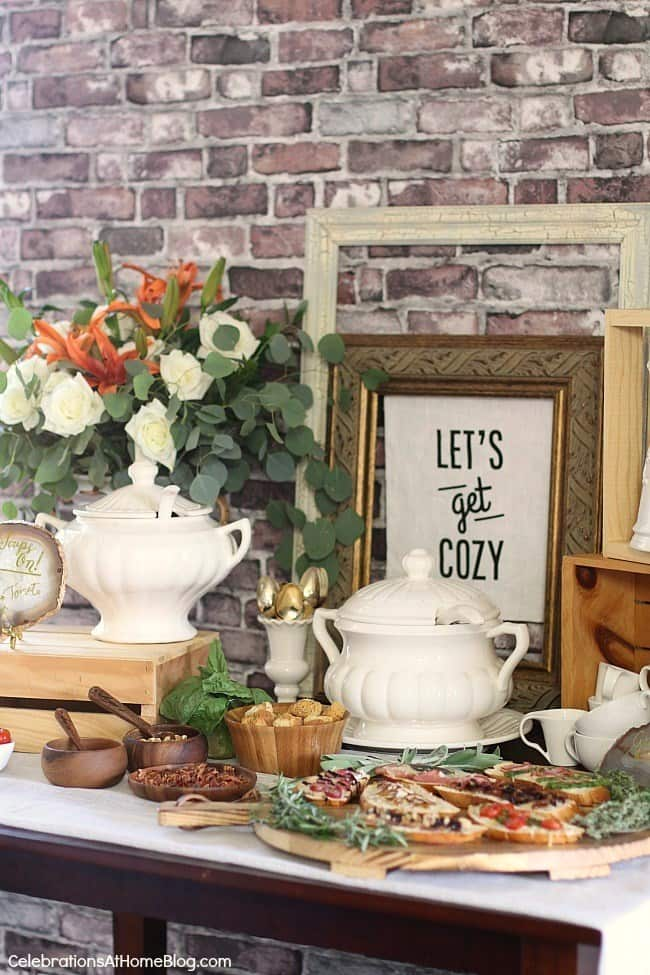 How to Set Up a Soup Bar