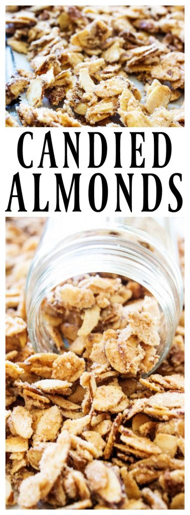 CANDY COATED ALMONDS