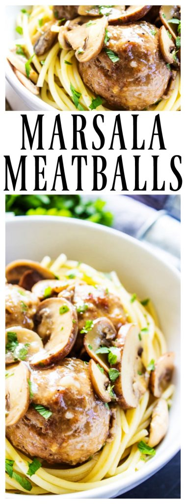 MARSALA MEATBALLS - a fantastic holiday appetizer or the perfect bowl of comfort food for an evening at home. Either way, these need to end up on your menu.