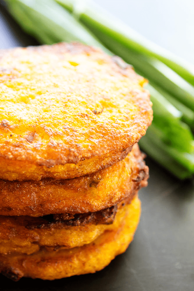 Packed with flavor these SWEET POTATO CAKES are the perfect appetizer or snack; they're deliciously easy and perfect for the holidays.