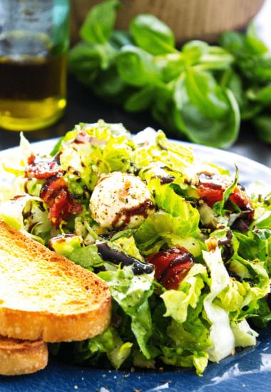 Chopped Caprese Salad & 5 Reasons to Visit Breckenridge, Colorado