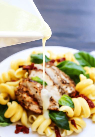 LEMON BUTTER SAUCE has two key ingredients lemon and butter; need I say more? A creamy, buttery sauce with a mild tang from the fresh lemon juice.