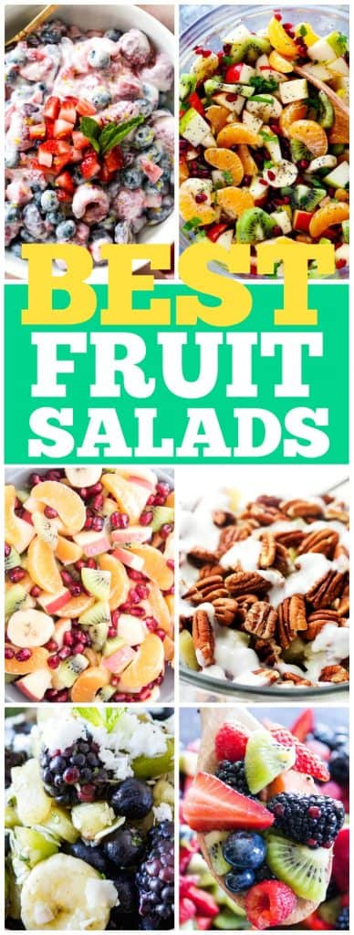 best fruit salad recipes to make