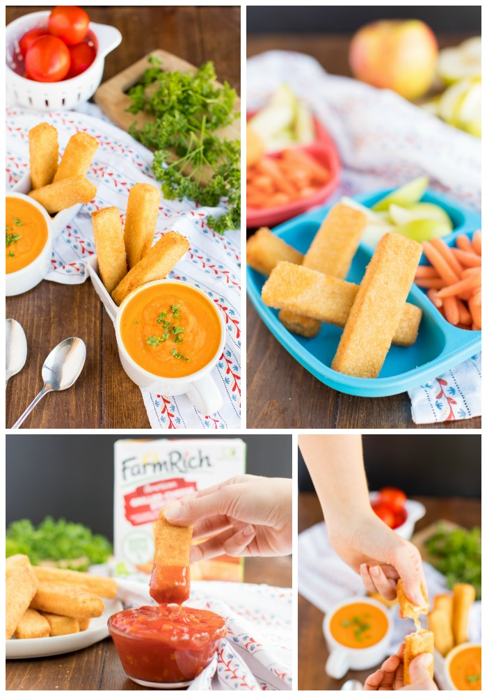 Easy Dinner Hack Ideas that are perfect for a busy night. Simple recipes paired withFarmRichGrilled Cheese Sandwiches will make dinner delicious.