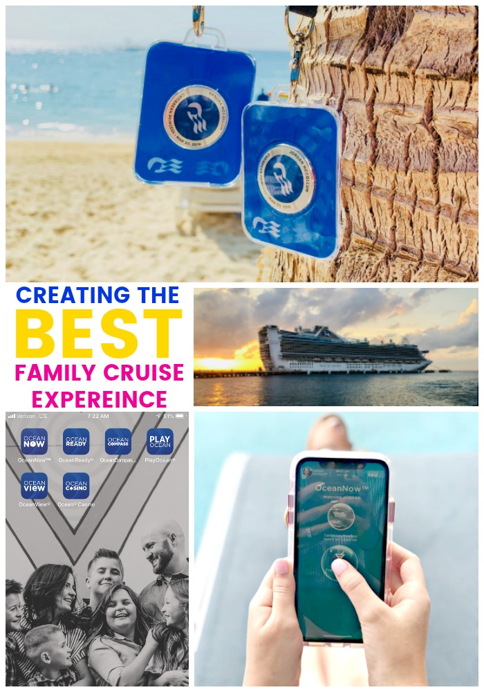 collage of cruise photos