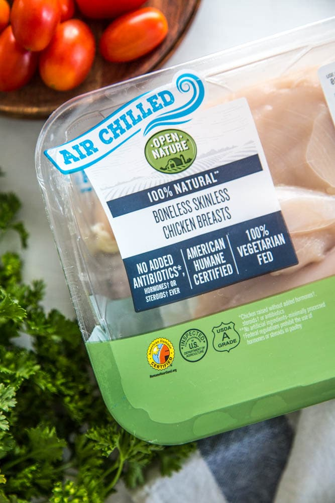 a package a boneless skinless chicken breasts