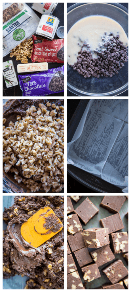 photo collage showing recipes steps.