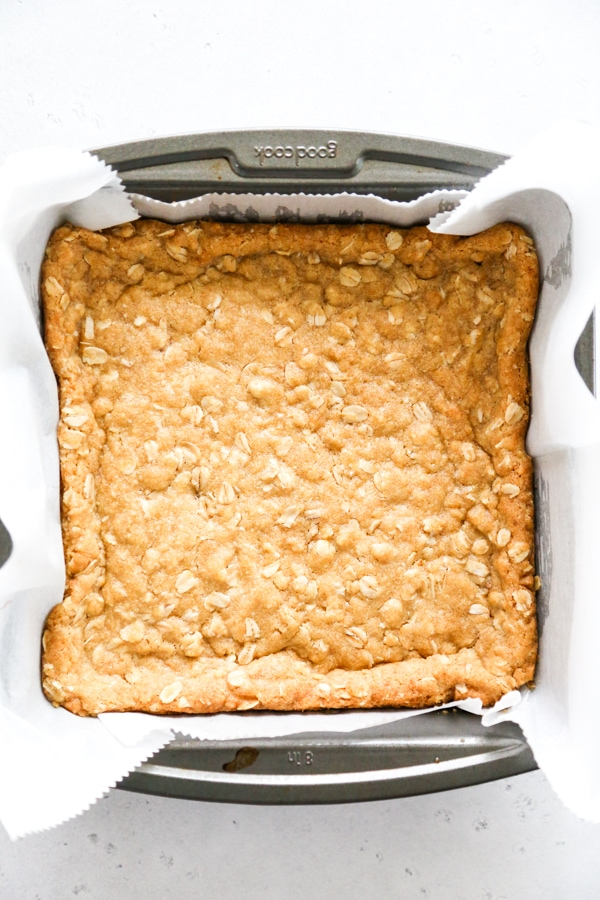 the bottom crust baked.