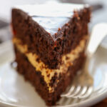 a slice of harvest cake.